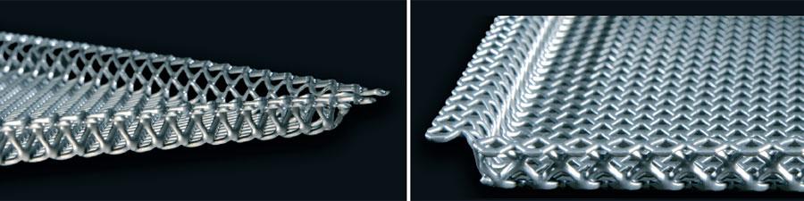 Controsoffittature metalliche in lamiera stirata