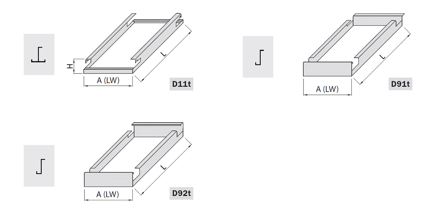 Controsoffittature su misura in lamiera stirata saldata a filo