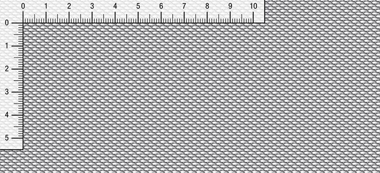 Lamiera stirata esagonale E 3,5