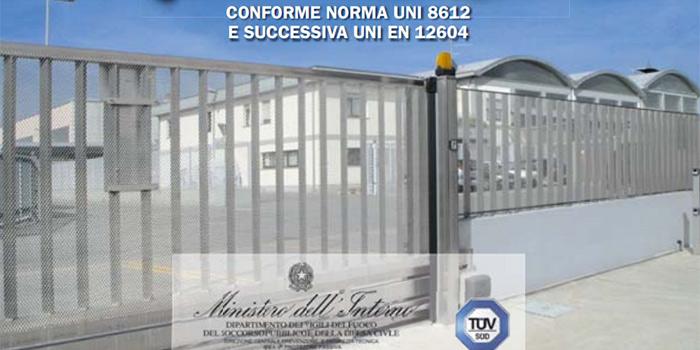 Rete sicura e protezione ip italfim for Rete stirata per cancelli