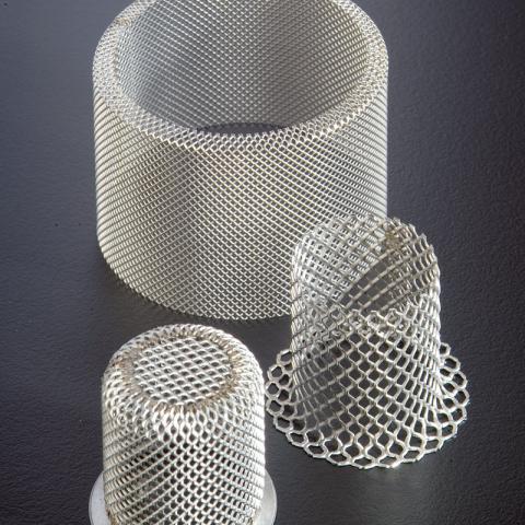 Lavorazioni filtri in lamiera stirata