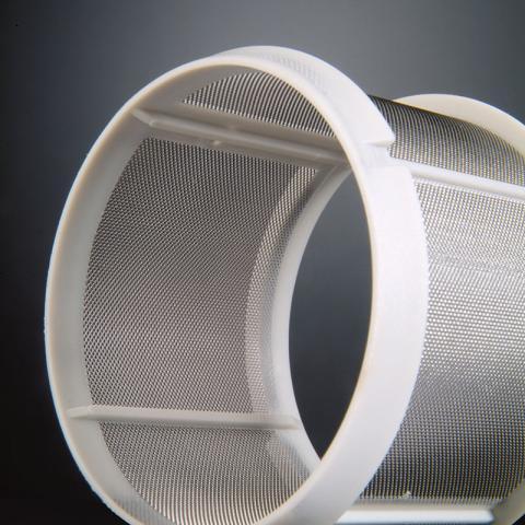 Filtri cilindrici in lamiera stirata